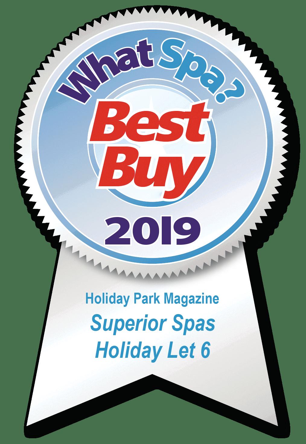 What Spa Award 2019 - Holiday Let 6