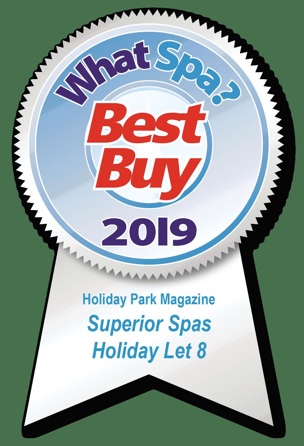 What Spa Award 2019 - Holiday Let 8