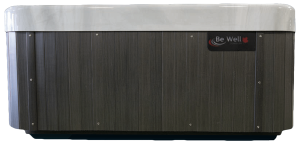 Be Well O747 Deluxe Hot Tub Grey Sides