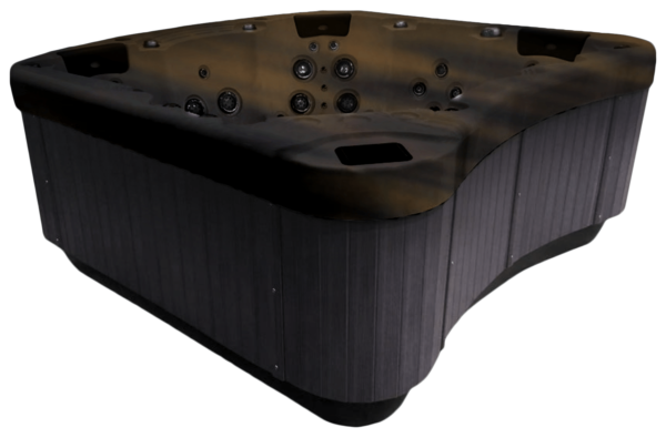 Be Well E770 Hot Tub grey side panels
