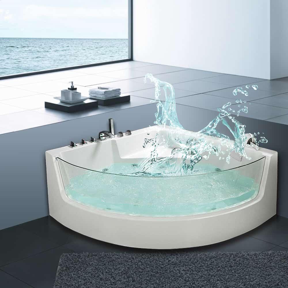 5f2ad59e4f2 ... Venice Whirlpool Corner Bath. 🔍. £1,199.00