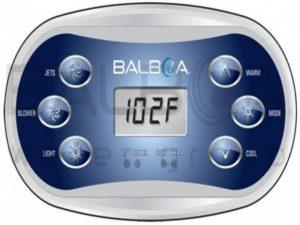 Balboa VL600S Panel