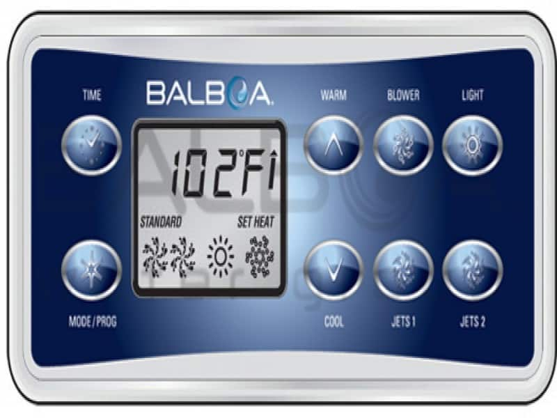 Balboa VL801D Panel