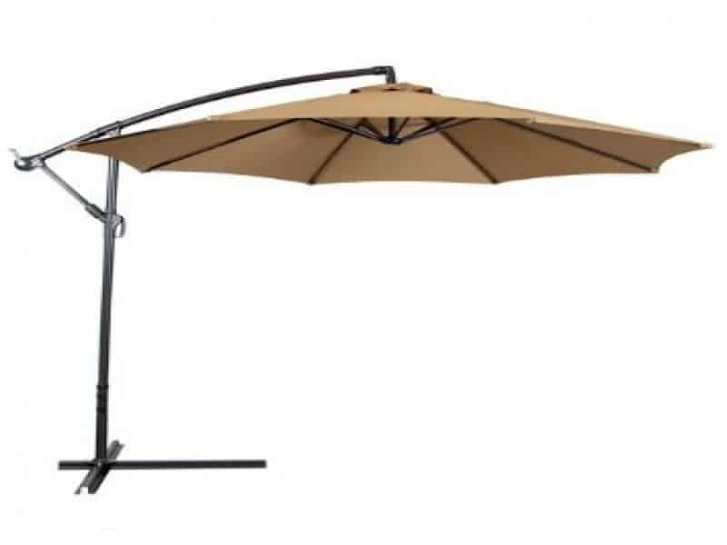 Cream Hot Tub Parasol