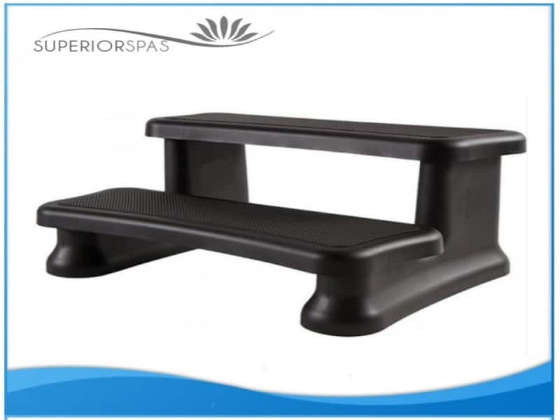 Hot Tub Grip Steps Black