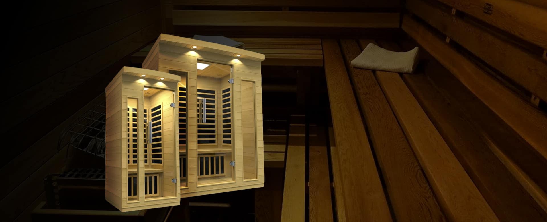 Miami Spas Sauna Slide