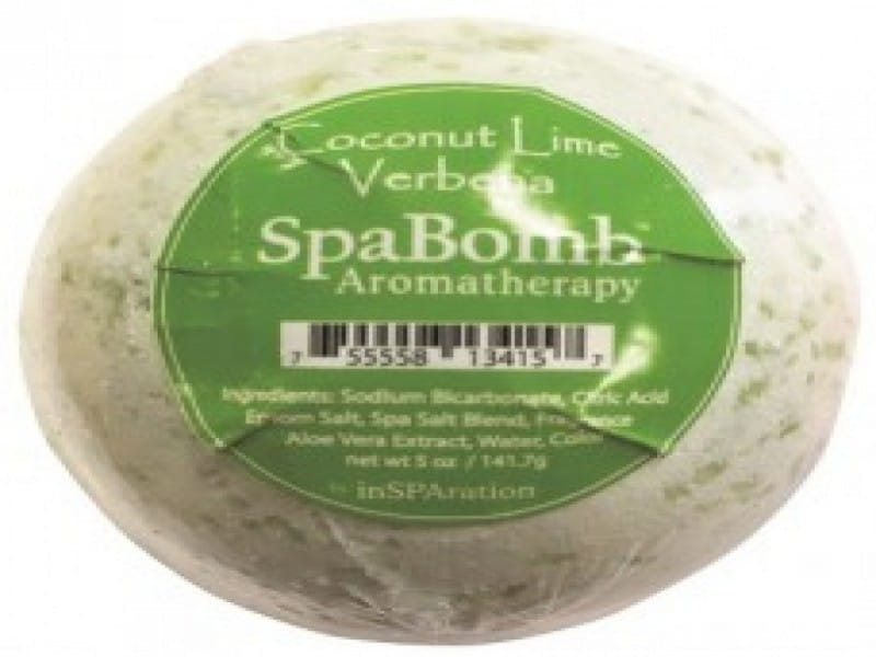 spabomb coconut lime