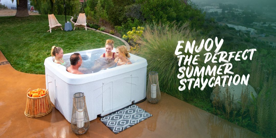 Enjoy the perfect summer staycation